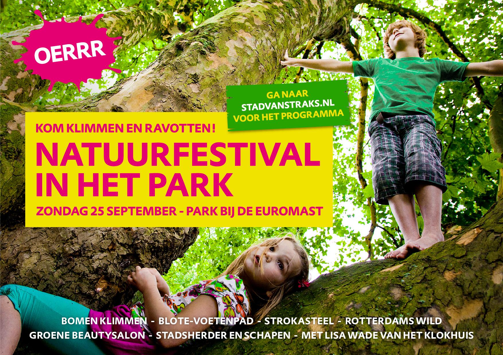Natuurfestival in het Park bij de Euromast